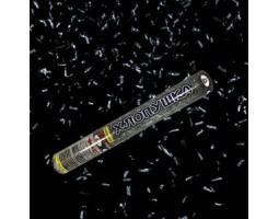 Хлопушка серебристое конфетти 40 см FP-05