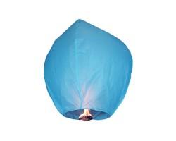 Небесный фонарик голубой