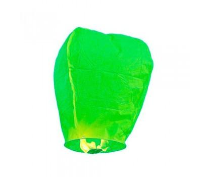 Небесный фонарик зеленый