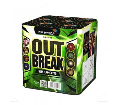 Фейерверк  Out Break SB-25-03